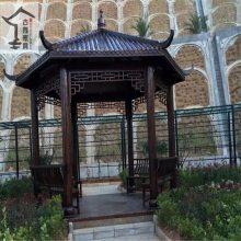 中式木制凉亭 四合院景观凉亭 庭院花园亭子设计