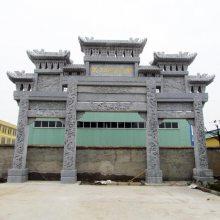 杭州石牌坊农村石牌坊石牌楼定做厂家