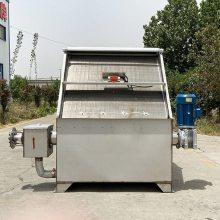 鲁华 安徽餐厨垃圾处理机 羊粪固液分离机视频 农场牛粪固液分离机价格
