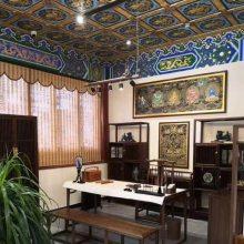 定制新中式装修材料 古建吊顶天花板 酒店会所室内装饰创意 集成铝板