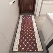 彩印地毯惊险走廊过道水晶绒金钻绒家用进门可裁剪定制