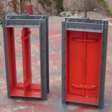汇鹏入口脱硫挡板门 辽宁入口脱硫挡板门 入口脱硫挡板门价格 图纸定做