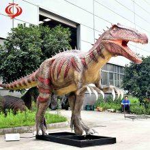 硅胶超大型仿真恐龙 景区公园恐龙模型摆件制作 源头厂家来图定制