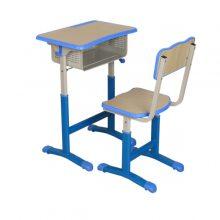 长沙校用课桌椅批发 定制学生桌椅