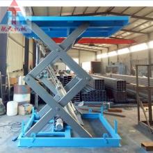 山西省运城 固定式升降机 升降平台厂家 工厂升降货梯 剪叉式提升机 免费设计图纸