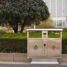 河南厂家供应户外两分类垃圾箱、三分类垃圾箱、四分类垃圾箱定制垃圾桶郑州