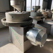 现林石磨 电动石磨面粉机 五谷杂粮面粉机-全自动半自动石磨机-厂家直销