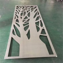 门头镂空铝板装修装饰_花型雕刻镂空铝板德普龙
