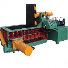 Y80-30型油漆桶金属压块机 铝屑废铁金属边角料压块机 源德机械