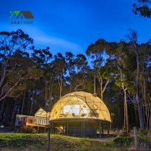 广州球形帐篷房厂家 3~60米直径穹顶帐篷定制