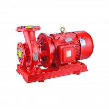 自动喷淋泵检测 江洋大功率90KW消防泵 XBD10.0/55-150L 室内稳压泵调试
