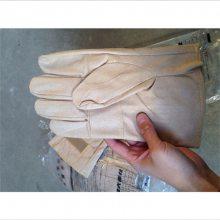 皮革保护手套YS103-12-02羊皮手套防割手套外置防护手套