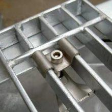 【领冠】焊接钢格栅板@焊接钢格栅板多少钱一平米@湖南湘西平台镀锌钢格栅板价格
