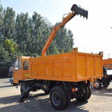 6-20吨随车挖工程用随车挖小型轮式随车挖掘机田园用四驱随车挖