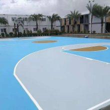 广东硅PU网球场施工价格塑胶羽毛球场油漆价格塑胶篮球场材料价格建彩色球场造价新***篮球场造价