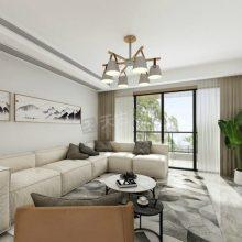 龙湖萃峰装修案例,昱湖壹号一期装修在建工地,礼嘉品质大平层设计