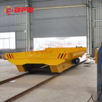 剪叉式电动升降平台车 坦克链轨道转运车 PLC控制RGV轨道小车