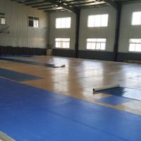供应杭州体育馆运动地胶/宝石纹PVC塑胶地板/欧宝瑞羽毛球地板