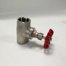 304双头螺纹截止阀 1.2寸内螺纹截止阀 DN32不锈钢阀门