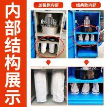 移动式单机脉冲布袋除尘器工业环保设备抛光打磨木工集尘器