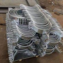 惠州双螺栓管夹保冷管用 大口径管夹 汇鹏管夹厂家