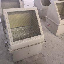 供應玻璃鋼WEX方形壁式軸流風機低噪聲防爆邊墻軸流通風機