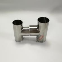 卫生级不锈钢三通 肇庆不锈钢三通19圆管 316光面三通