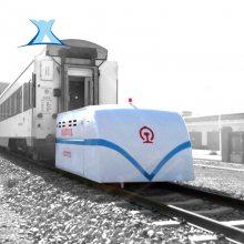 可定制 1-300T运输模具电动平板拖车 转运车间机械牵引设备技术参数_新乡百特