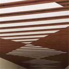 吉利4s店铝方通吊顶|吉利汽车店展厅铝格栅天花
