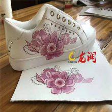 揭阳凉鞋3D彩印机 拖鞋面数码印花机 拖鞋底图案彩绘机