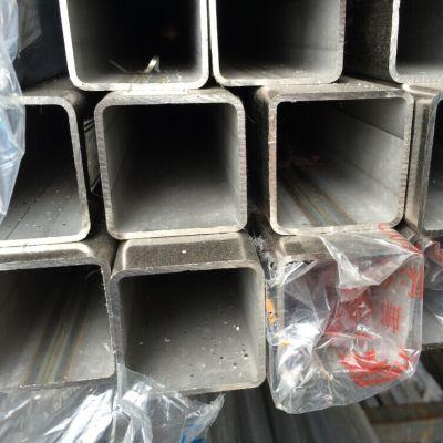 南宁拉丝管304,镜面方通90*90,焊接钢管