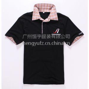 供应广州T恤衫定做|工作服定制厂家|广州休闲新款T恤衫定制
