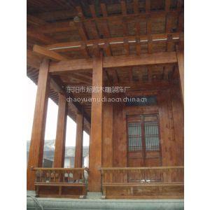 供应四合院 亭台楼阁等中式建筑的设计装修施工  中式门窗