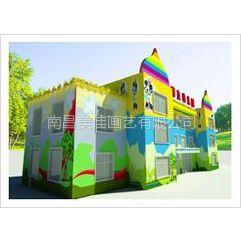 供应萍乡 上栗 莲花 芦溪幼儿园彩绘手绘墙画涂鸦壁画供应!