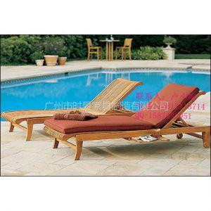 供应实木沙滩椅,网布沙滩椅,铸铝沙滩椅,编藤沙滩椅