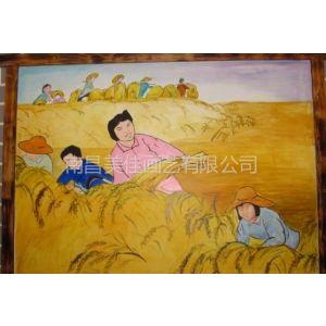 供应吉安 峡江 泰和 永丰 新干学校校园围墙文化墙彩绘手绘画涂鸦壁画供应!