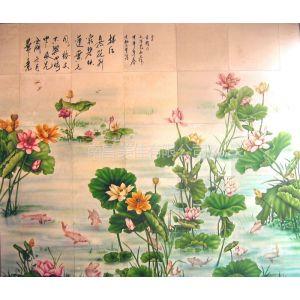 供应峡西西安榆林延安铜川咸阳渭南商洛安康宝鸡陶瓷砖瓷板壁画定做!