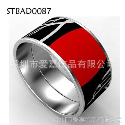能量磁石保健手镯 不锈钢保健手环加磁钨钛合金首饰加工生产工厂