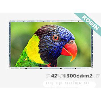 供应品源电子科技42寸高清广视角户外高亮液晶屏RX420-L03W(LCD液晶显示屏)