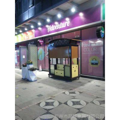 时代广场售货车,木制售货亭,冰淇淋售卖亭