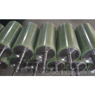 厂家定制 聚氨酯 PU包胶辊 牵引机PU滚筒包胶 来图 样 料加工定做