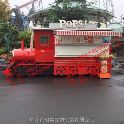 运城商业街售货亭衡水木制贩卖车铁岭欧式风格摊位车