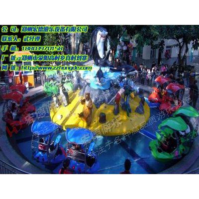 激战鲨鱼岛 公园大型景观戏水类游乐设备宏德游乐供应