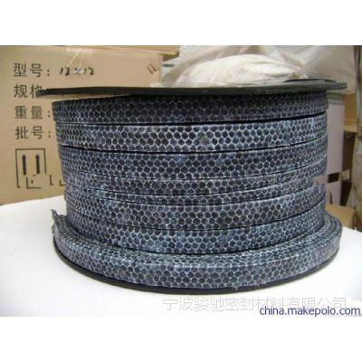 碳纤维盘根 骏驰出品浸渍四氟乳液碳化纤维盘根