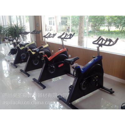 供应奥圣嘉ASJ-S600动感单车专业健身减肥脚踏有氧健身房专用
