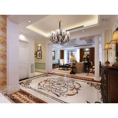 北京中信诚118平米三居室现代风格浅色调装修