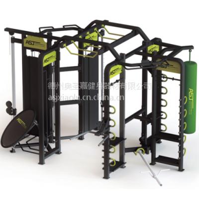 供应奥圣嘉ASJ360-F多功能综合私教训练器大型健身有氧训练器人气私教 健身房专用