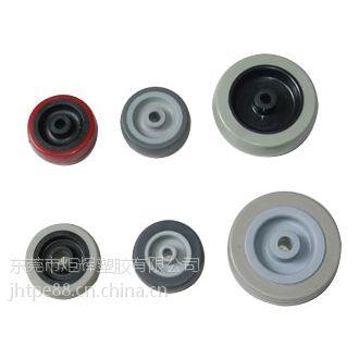 包粘PP/PE料 TPE原料包胶工业脚轮 TPE玩具轮子价格
