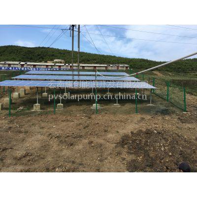 耀创能源不锈钢立式变频光伏水泵CDLF8-207.5KW光伏提灌站 扬程163米,流量10方