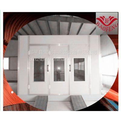 长春市 吉林市车架高温烤漆房伸缩式喷漆烤房环保喷漆房宝利丰定制